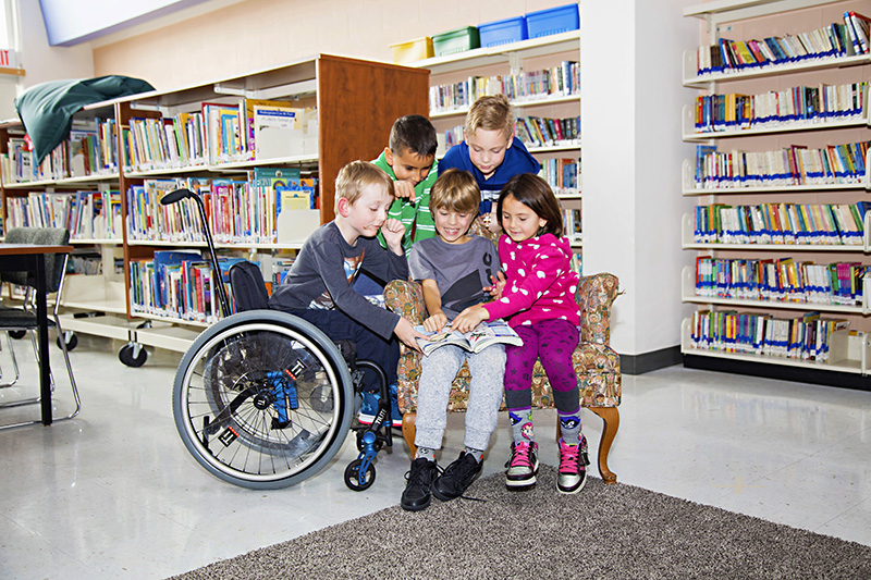 Jeanne Sauve School accessibility picture