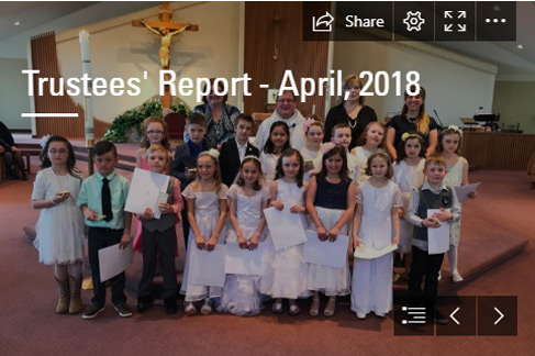 Trustees' Report – April 2018