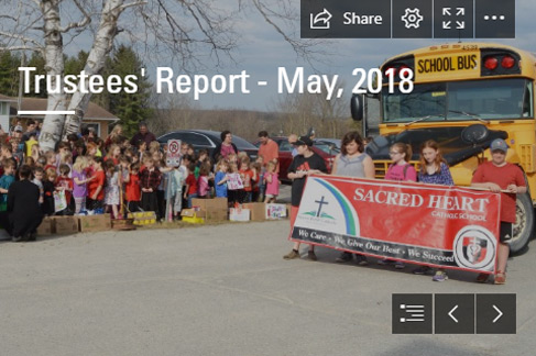 Trustees' Report – May 2018