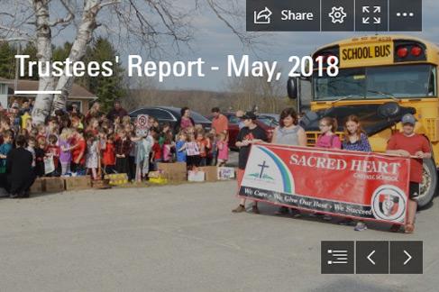 Trustees' Report – May 2018